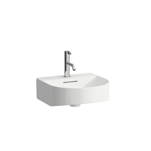 wall-mounted hand basin