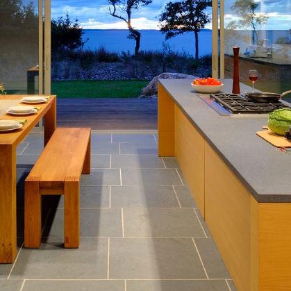 indoor tile / outdoor / for floors / sandstone