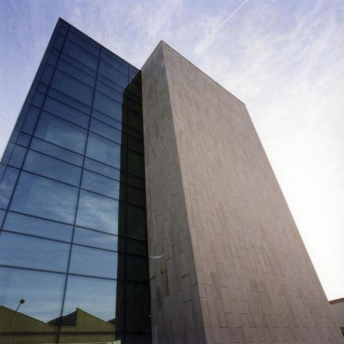 sandstone ventilated facade / natural stone / sheet