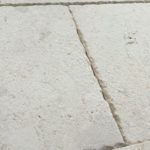 limestone paver / pedestrian / aged / for public spaces