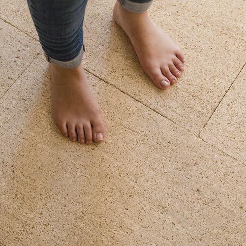 natural stone flooring / limestone / tertiary / residential