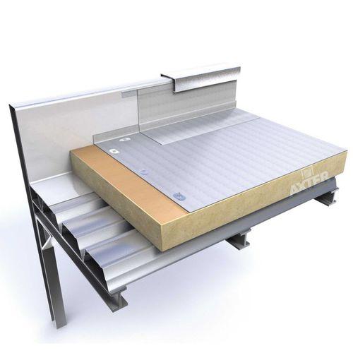flat roof waterproofing membrane / green roof / roll / PVC
