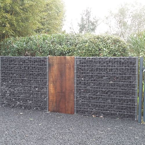 galvanized steel wall