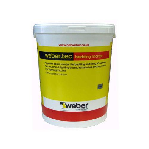 Fixing Mortar Webertec Bedding, How Much Bedding Mortar Do I Need