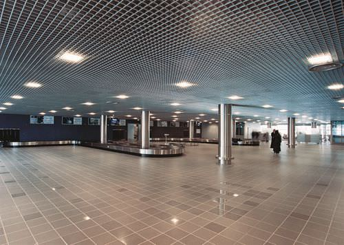 aluminum suspended ceiling / panel / decorative / wire
