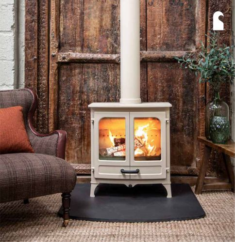wood heating stove / classic / steel / cast iron