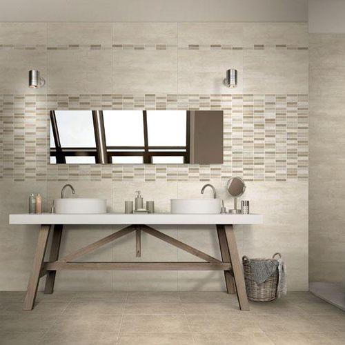bathroom tile / wall / porcelain stoneware / 45x45 cm