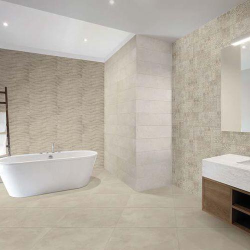 indoor tile / wall / porcelain stoneware / 25x75 cm