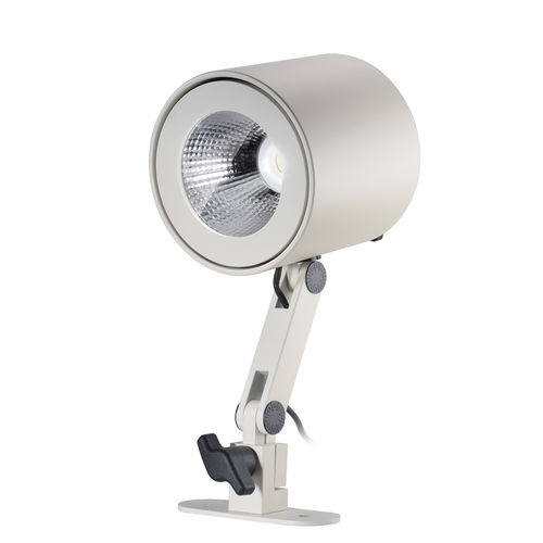 wall-mounted spotlight / indoor / LED / round