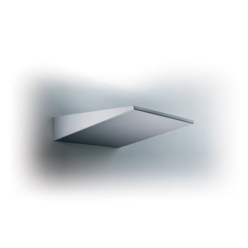 contemporary wall light / painted metal / LED / triangular