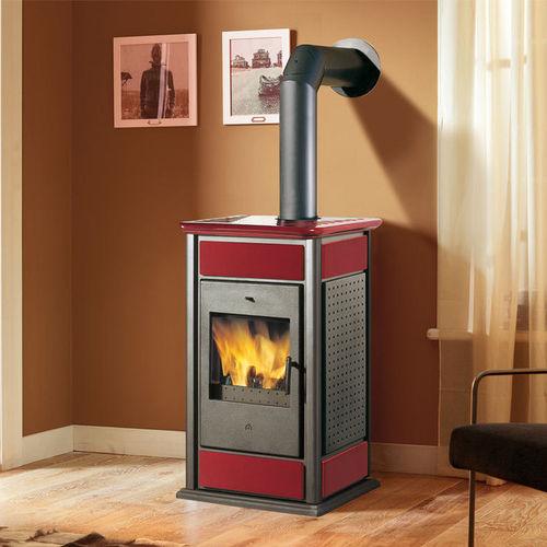 wood boiler stove / steel / cast iron / ceramic