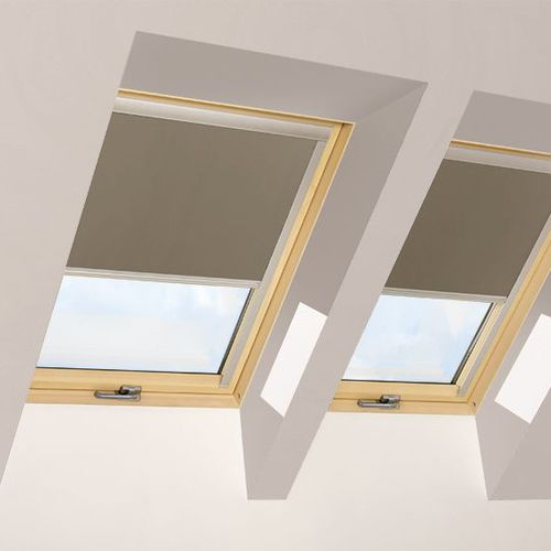 roller blinds / canvas / blackout / for roof windows