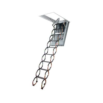 accordion protection ladder / metal / fire-retardant