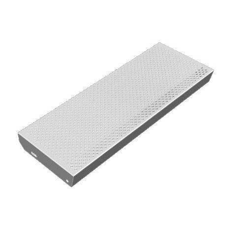 stainless steel step / steel / non-slip