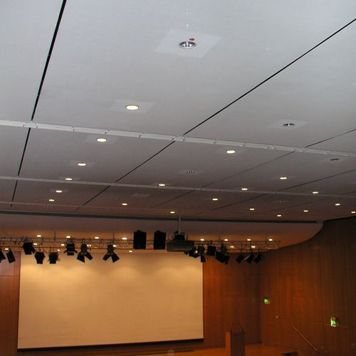 metal suspended ceiling / panel / acoustic