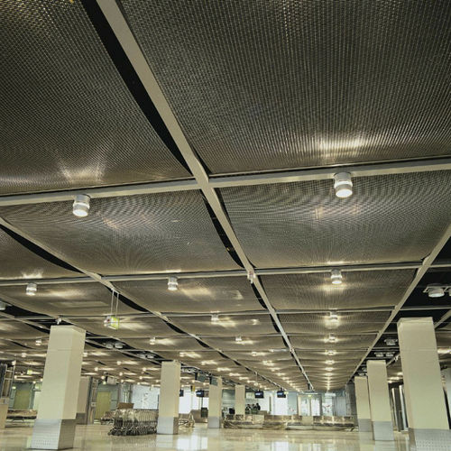 wire mesh suspended ceiling