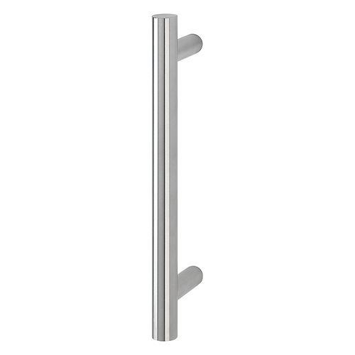 door pull handle / stainless steel / contemporary