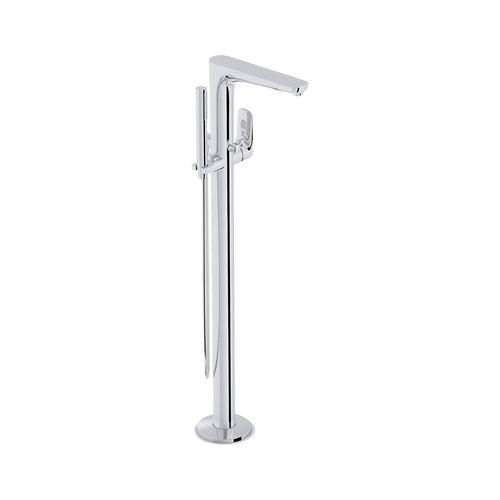 floor-mounted shower set