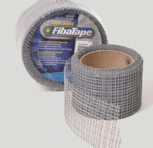 exterior drywall tape / for walls / fiberglass