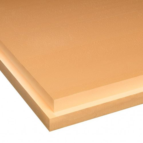 thermal insulation / extruded polystyrene / for roofs / for basements