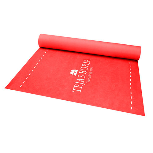 protection waterproofing membrane / for roofs / roll / bituminous