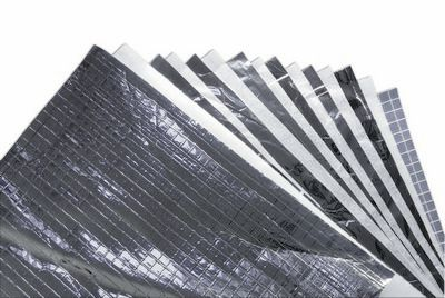 thermal-acoustic insulation / polyethylene / polyester / for roofs