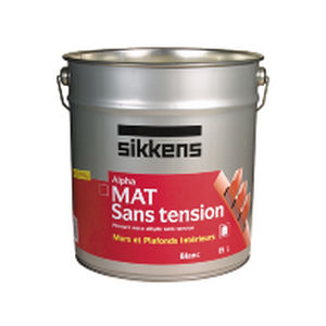 insulating coating / indoor / for ceilings / alkyd resin