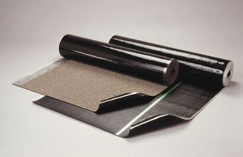 SBS asphalt waterproofing membrane / protection / flat roof / green roof