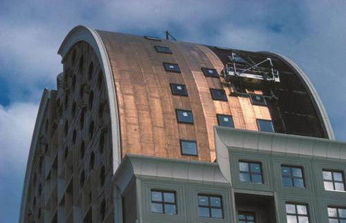 reinforcement waterproofing membrane / for roofs / roll / flexible