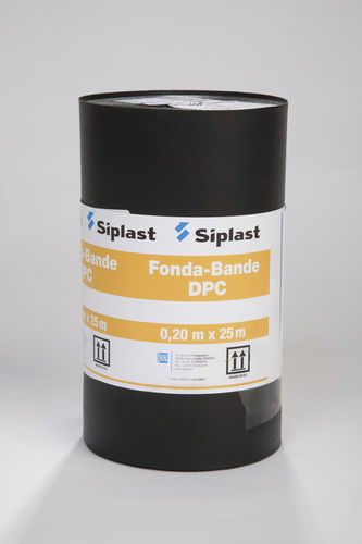 protection waterproofing membrane / for walls / for foundations / strip type