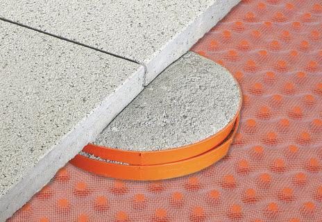 outdoor terrace pedestal / polyethylene