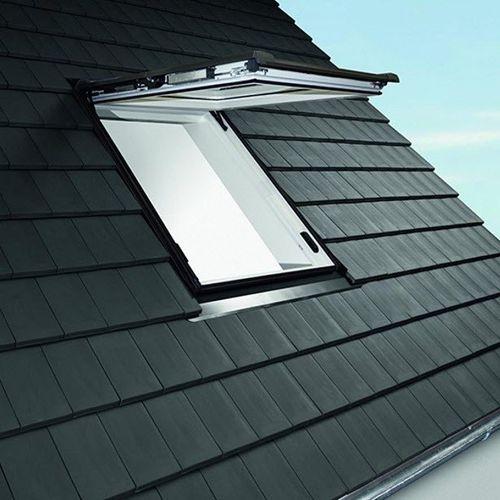 projection roof window / PVC / double-glazed / triple-glazed
