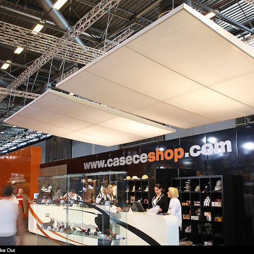 canvas suspended ceiling