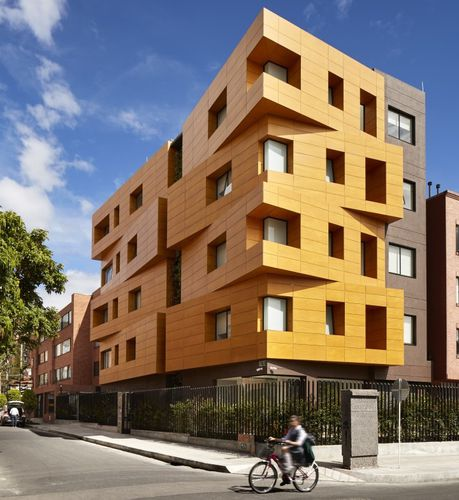 wooden cladding / smooth / panel