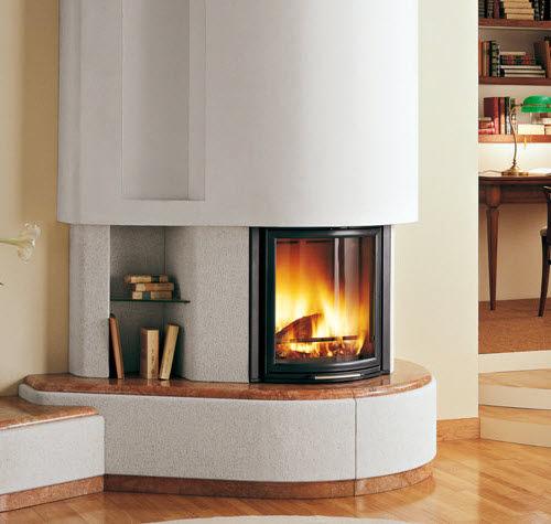 contemporary fireplace surround