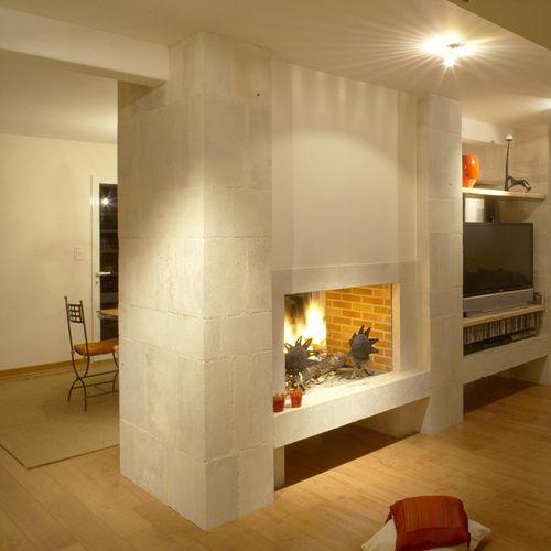 traditional fireplace mantel