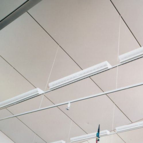 PVC stretch ceiling / panel / acoustic / water-repellent
