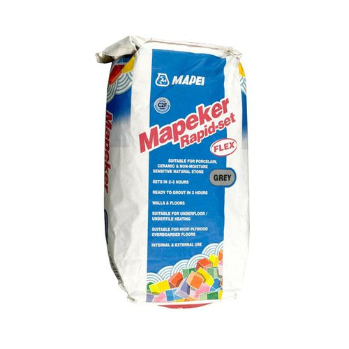 fixing adhesive mortar / for tiles / cement