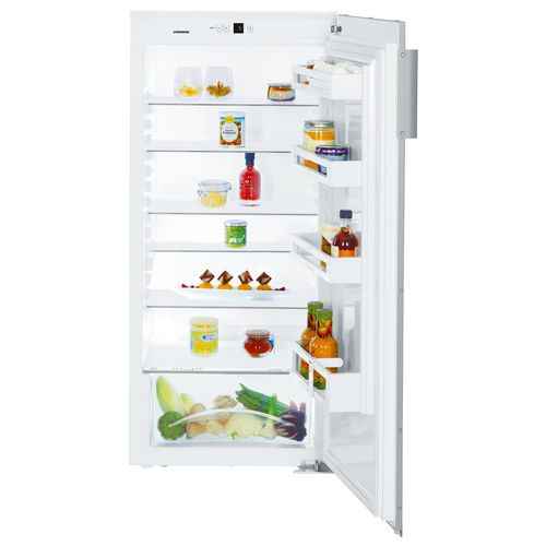 home refrigerator / upright / white / built-in