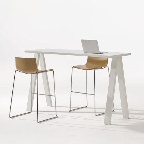 contemporary high bar table - Arper