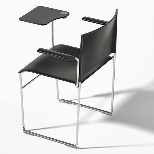 sled base visitor chair - Arper