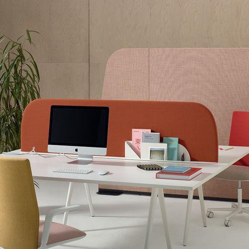floor-mounted office divider - Arper