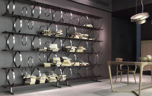 modular shelf / original design / cherrywood / American walnut