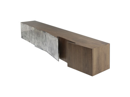 contemporary sideboard / maple / American walnut