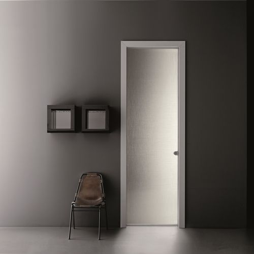 interior door / pocket / glass / aluminum