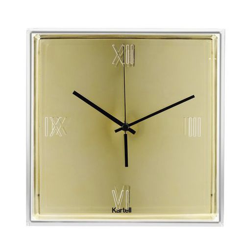 contemporary clock / analog / wall-mounted / ABS