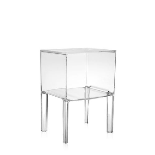 contemporary bedside table / PMMA / rectangular / by Philippe Starck