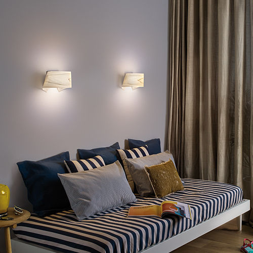 contemporary wall light / wooden / LED / commercial