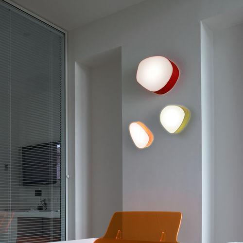 contemporary wall light / wooden / acrylic / LED