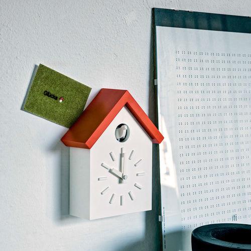 original design clock / analog / wall-mounted / ABS